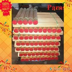 Red and Black Brass Rods