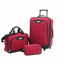 Shreeji Red Trolley Bags, For Luggage, Size: 20 Inch