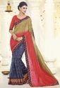 Net Cotton Saree