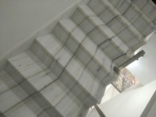 White Straight Run Staircase Marble, Rs 40 /square Feet