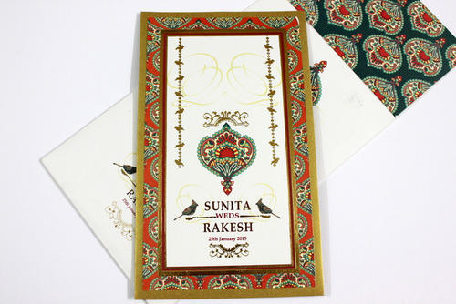 Designer Indian Wedding Card Wedding Invitation Card Jimit Card – Indian Wedding Cards Mumbai
