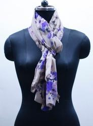EGSC0006 Floral Cotton Printed Scarf