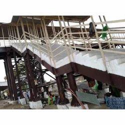 Railway Bridge Construction Work
