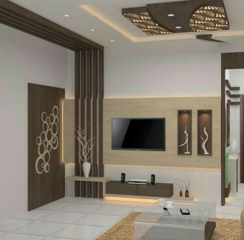 Interior Design Hall And Kitchen: Happy Homes Interiors, Coimbatore