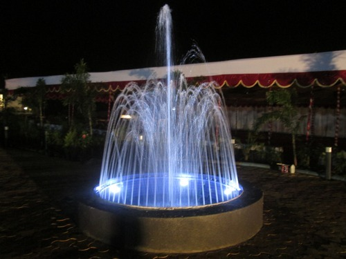 Lovely Ring Fountain. Ring Fountain; Portable Water Fountain