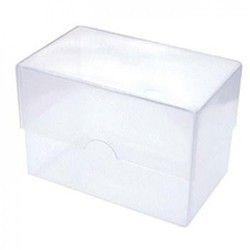 Rectangle Plastic Transparent Box, For MULTI