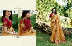 Vinay Fashion's Pure Crepe Silk Designer Sarees