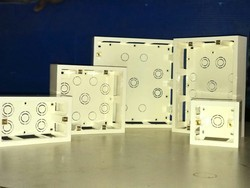 ABS Rectangular Surface Modular Box, For Electric Fitting, Dimension: 360*100*255