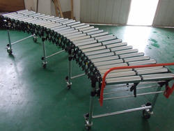 Flexible Expandable Roller Conveyors