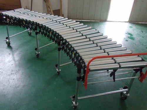 Flexible Roller Expandable Conveyor Flexible Expandable