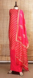 Cotton Punjabi Suits, Size: S, M & L