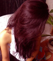 Burgundy Hair Color Henna