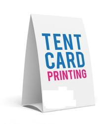 Tent Card Printing Service