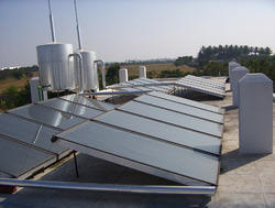 Textile Industry Energy Solar Water Heater