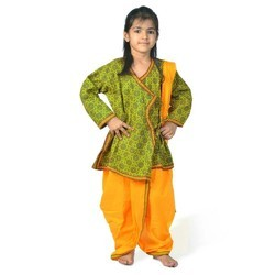 Ethnic Colorful Girls Dhoti Angrakha 202B
