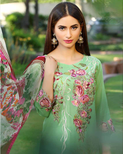 c53145c78a Gul Ahmed Summer Collection 2016_part 2 - Charizma Swiss Voile Suits ...