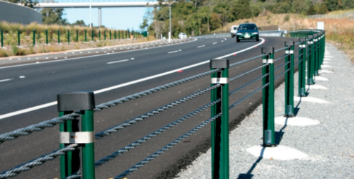 Wire Rope Crash Barrier View Specifications Amp Details By