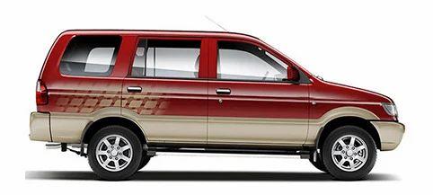 Chevrolet Tavera Car Car Rotary Nagar Khammam Orange Chevrolet