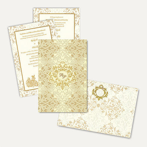 Islamic wedding cards at rs 175 marriage invitation cards shaadi islamic wedding cards stopboris Images