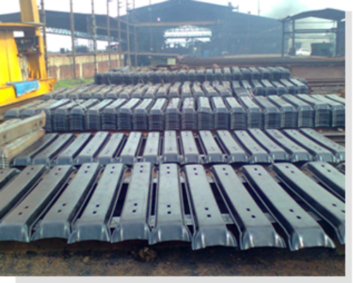 Railway Steel Sleepers - View Specifications & Details of Railway
