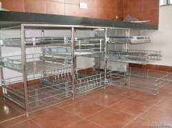 Stainless Steel Kitchen Trolleys