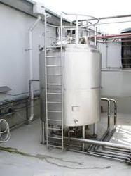 Milk Storage Silo