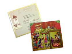 Wedding Card Type A Designing Service