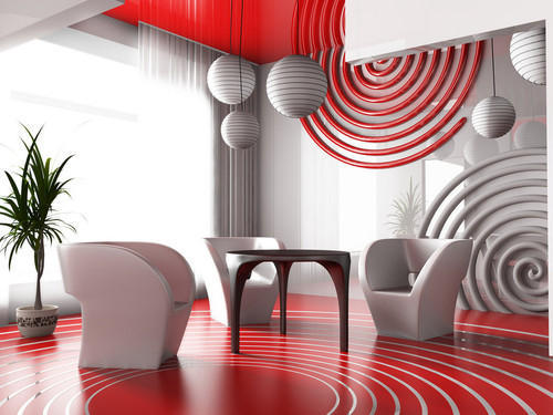 wall paper designing service - living room wallpaper design