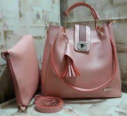 Trendy Combo Tote Sling Handbag