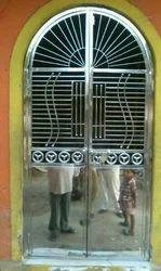 Steel Grill Door