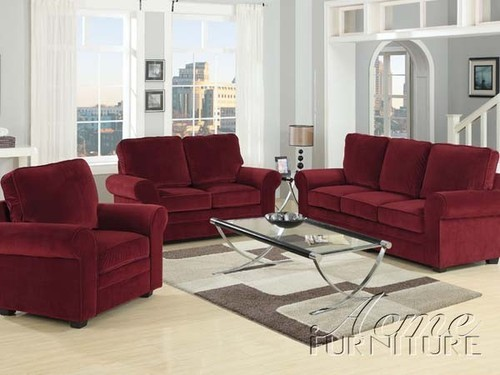Three Piece Sofa Set ड ज इनर स फ