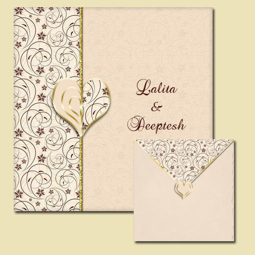 Wedding invitation card at rs 30 pieces wedding cards id wedding invitation card stopboris Image collections