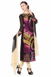Designer Printed Long Salwar Suit