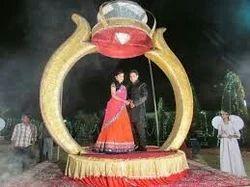 Ring Varmala Revolving Stage