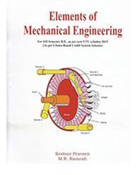 Elements Of Mechanical Engineering Gtu Book