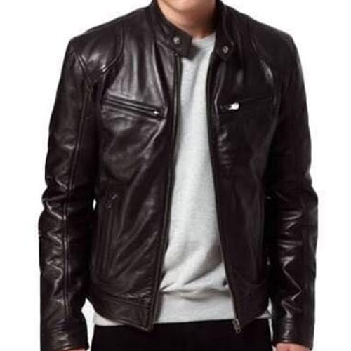 Brawon Blended Mens Leather Jacket Rs 1200 Piece Style Deal Id
