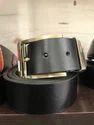 Mens Black Learher Belt