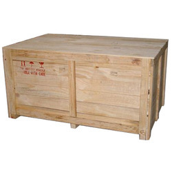Round Wooden Packaging Box, Box Capacity: 1000-2000 Kg