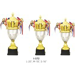 Metal Double Tone Cup Trophy