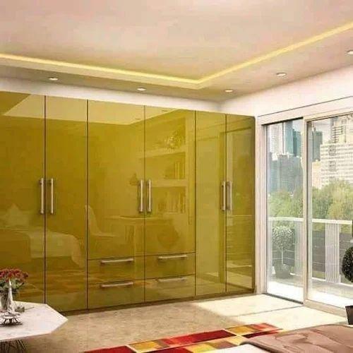 Brown Wooden Almari Warranty 1 Year Rs 1539 Square Feet Woodan Work Id 20076890333