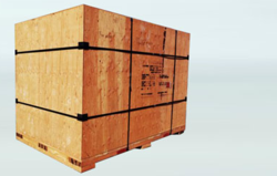 Heavy Duty Wooden Box for Bearing Rings