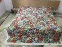 Multi Printed Applique Bed Cover Designer Cutwork Bedsheet