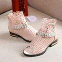 Angel Pink Studded Peep Toe Sandal