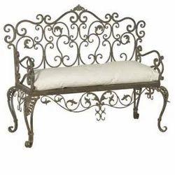 Etonnant Wrought Iron Sofa