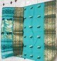 Cotton Banarasi Saree - Attractive