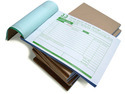 Small Bill Book Printing Service