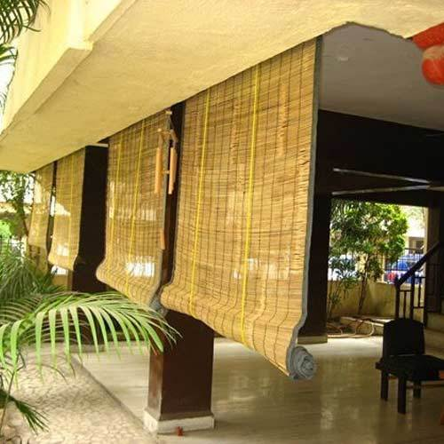 Curtain For Balcony: Exterior Bamboo Blinds Wholesale