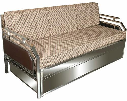 stainless steel sofa cum bed rs 18500 piece rolex furniture id rh indiamart com