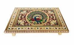 Rajwadi Patla-Chowki/ Puja Stool - 12