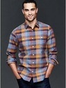 Casual Wear Full Sleeve Check Mens Shirt